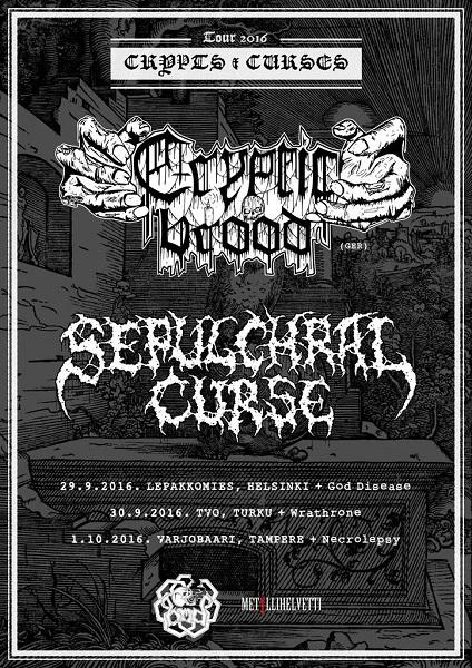 Crypts & Curses Finland Tour 2016