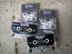"""The Graveyard Brood"" split tape"