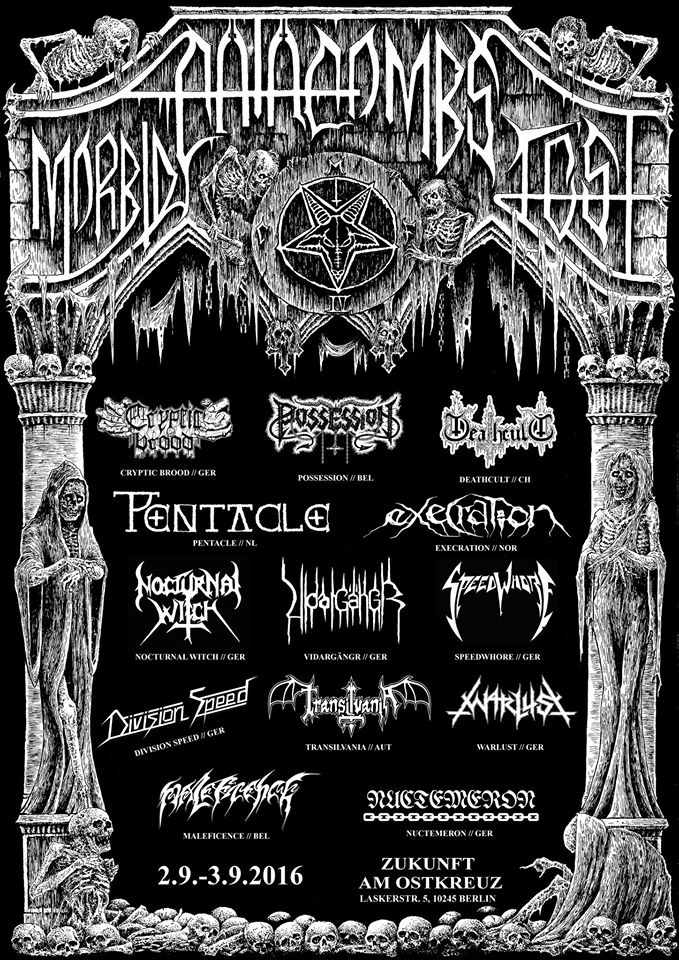 Morbid Catacombs Fest 2016 Poster