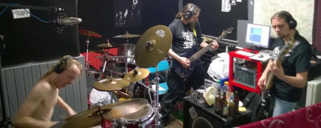 Recording new songs!