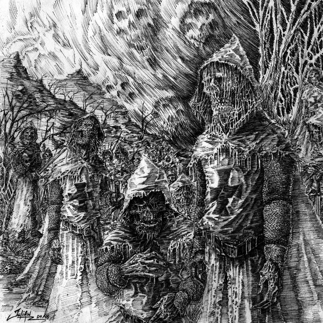 RESTOS HUMANOS / CRYPTIC BROOD split 7